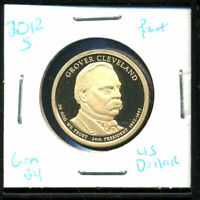 2012 S GEM PROOF GROVER CLEVELAND PRESIDENTIAL DOLLAR PF UNCIRCULATED COIN C373