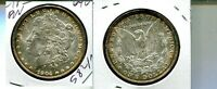 1904 O MORGAN SILVER DOLLAR CHOICE BU TONED 5821N