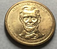 2010 UNITED STATES PRESIDENTIAL ABRAHAM LINCOLN DOLLAR $1 COIN