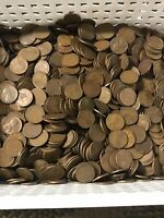 1 POUND OF WHEAT PENNIES .