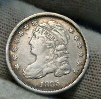 1835 CAPPED BUST DIME 10 CENTS   NICE COIN    9755