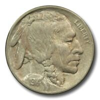 1914 P BUFFALO NICKEL HIGH GRADE 5C COIN ROTATED CLASHED DIE EPU