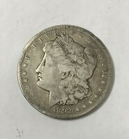 1892 CC MORGAN SILVER DOLLAR  GOOD