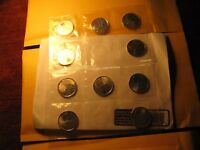 CANADA WAR OF 1812 SALABERRY 10 QUARTERS PACK RCM PLAIN AND