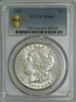 1900 MORGAN DOLLAR $ MINT STATE 66 SECURE PLUS PCGS 943288-50