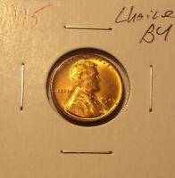 1945 LINCOLN CENT CHOICE BU.LOT 6445