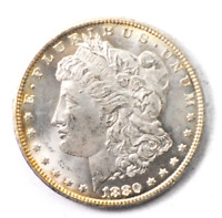 1880 CC $1 MORGAN SILVER ONE DOLLAR CARSON CITY 78 REV 80/79 VAM 4