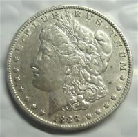 1888 MORGAN SILVER DOLLAR /  COLOR  & DETAIL FOR THE MONEY