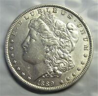 1889 MORGAN SILVER DOLLAR / GREAT COLOR  & DETAIL FOR THE MONEY