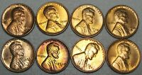 1930-S 1934 1935-S 1938-S MIXED DATES LINCOLN CENT GEM BU CONDITION  J024