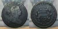1798 DRAPED BUST LARGE CENT 1C GREAT DETAILS