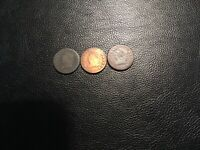 LARGE CENT CLASSIC HEAD 3 COINS 1810-12-13 THIS LOT PRICED TO SELL