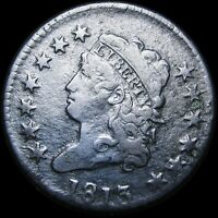 1813 CLASSIC HEAD LARGE CENT PENNY  ----   DETAILS TYPE COIN   ---- K464