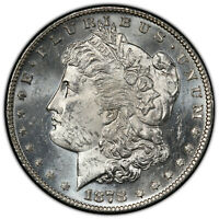 1878-S $1 MORGAN DOLLAR PCGS MINT STATE 62 COLLECTOR'S COIN SHIPS FREE