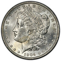 1904-O $1 MORGAN DOLLAR PCGS MINT STATE 60 COLLECTOR'S COIN SHIPS FREE