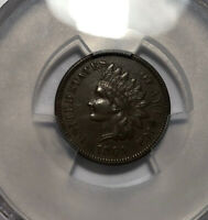 1869 INDIAN CENT PCGS XF 45
