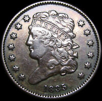 1835 CLASSIC HEAD HALF CENT TYPE 1/2 PENNY  ----   TYPE COIN   ----  J536