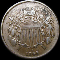 1865 TWO CENT PIECE 2CP TYPE COIN  ----   ----  J580
