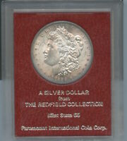 1889 S  MORGAN SILVER DOLLAR FROM REDFIELD HOLDER COLLECTION
