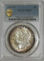 1903-O MORGAN DOLLAR $ MINT STATE 67 PCGS SECURE 943583-1