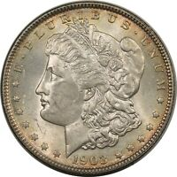1903 MORGAN DOLLAR FRESH REALLY  BRILLIANT UNCIRCULATED