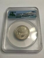2014-S 25C ANACS - MINT STATE 68 GREAT SMOKY MOUNTAINS, NP