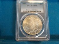 1882-P MORGAN DOLLAR PCGS MINT STATE 63