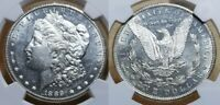 1889 CC MORGAN SILVER DOLLAR NGC MINT STATE 62 PL-  PROOF LIKE