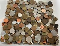 5 POUND LOT OF FOREIGN COINS