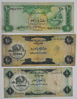 LOT OF 3 UNITED ARAB EMIRATES CENTRAL BANK 10 & 1 TEN ONE DI