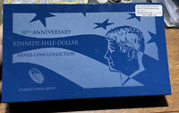 2014 50TH ANNIVERSARY KENNEDY HALF DOLLAR SILVER 4 COIN SETU