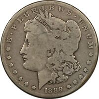 1889-CC MORGAN DOLLAR - KEY DATE CIRCULATED