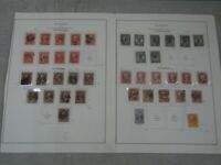 NYSTAMPS U OLD US OFFICIAL STAMP COLLECTION ALBUM PAGE