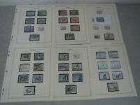 NYSTAMPS E OLD US BOB DUCK STAMP COLLECTION SCOTT PAGE  WITH