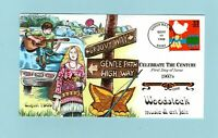 U.S. FDC 3188  HAND PAINTED COLLINS CACHET   THE WOODSTOCK M