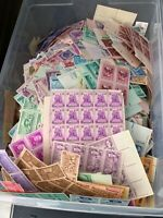 OUTSTANDING LOT OF 19 600 3 CENT STAMPS  FACE VALUE OVER $58