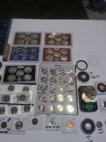 COIN LOT SILVER AND GOLD COIN NO JUNK UNC SETS PROOF SETS RA