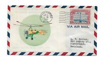 1931  EARHART AVIATION EVENT COVER FROM GRAND RAPIDS MICHIGA