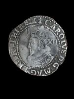 UNRESEARCHED SILVER HAMMERED COIN GROAT/HALF GROAT  3