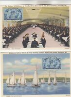 2  935 US NAVY FIRST DAY POSTCARDS