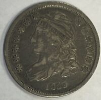 1835 CAPPED BUST HALF DIME - PLEASING CIRCULATED EXAMPLE CHOICE
