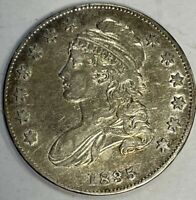 1835 CAPPED BUST HALF DOLLAR - HIGH GRADE CIRCULATED EXAMPLE