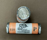 2003 US MINT UNCIRCULATED $10 ROLLS OF STATE QUARTERS LOT OF