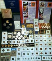 US COIN LOT 439X  COLLECTION 1898 2021 SILVER MS  GEM BU OBW