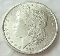 1889 MORGAN SILVER DOLLAR / HIGHER GRADE  / SHIPS FREE WITH TRACKING 297