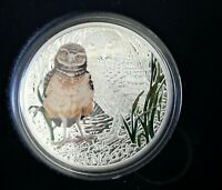 2015 CANADA  $20 BABY ANIMALS BURROWING OWL COIN&STAMP SET