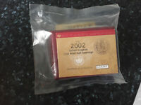 2002 GOLD PROOF HALF SOVEREIGN-REVERSE SHIELD BACK - ROYAL MINT SEALED - PERFECT