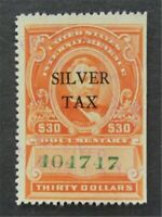 NYSTAMPS US REVENUE STAMP  RG19 USED $75   L30X842