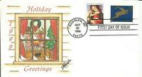 3355 & 3357 CHRISTMAS COMBO FDC   T MICHAEL WEDDLE COURT OF