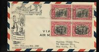 US SCOTT 651 GEORGE ROGERS CLARK FIRST DAY COVER 2 25 1929 1